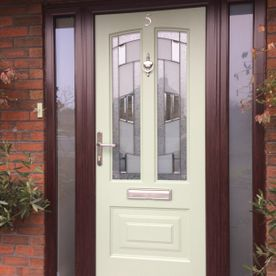 CHARTWELL COMPOSITE DOOR WITH SIDE FRAME