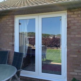 WINDOW CUT THROUGH FOR FRENCH DOORS